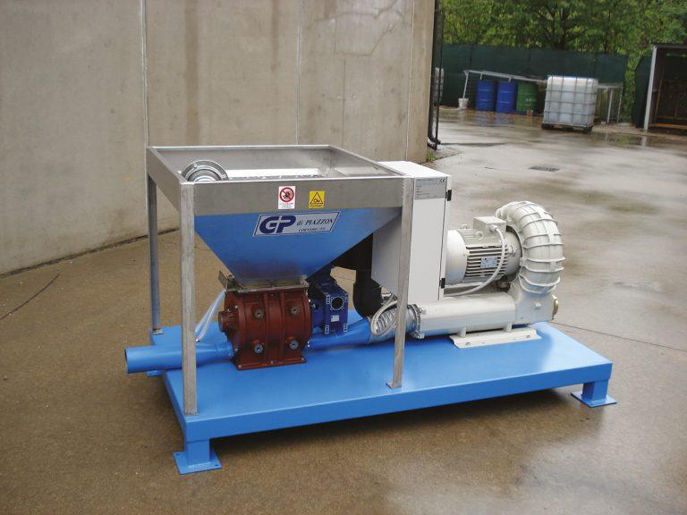 PNEUMATIC AIR CONVEYOR SYSTEM 6000 KG/H -