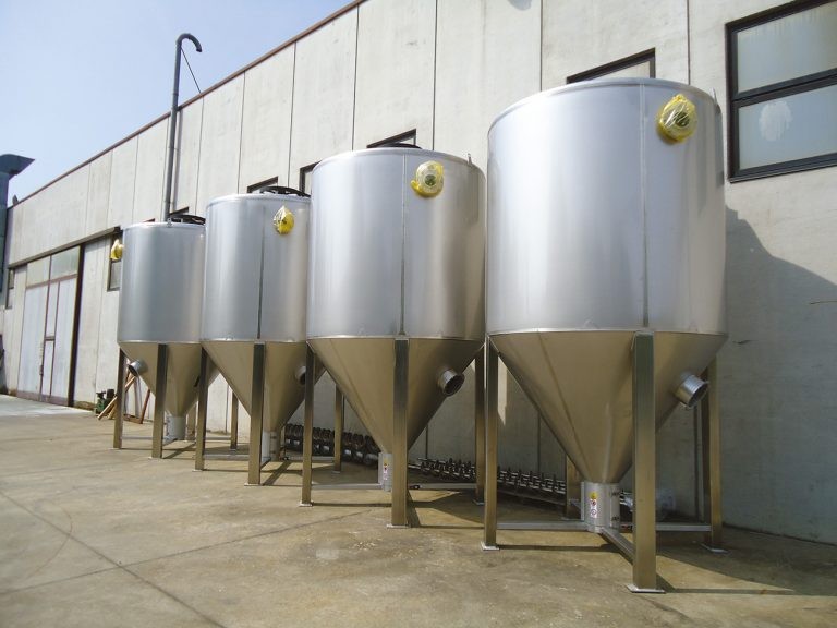 10000 L STAINLESS  STEEL MIXERS -