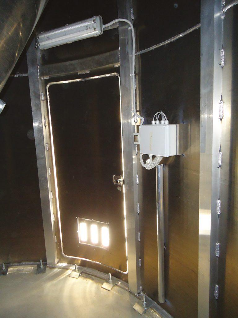 SILOS E IMPIANTI DI STOCCAGGIO PER USO ESTERNO - Dettaglio 21: impianto illuminazione -